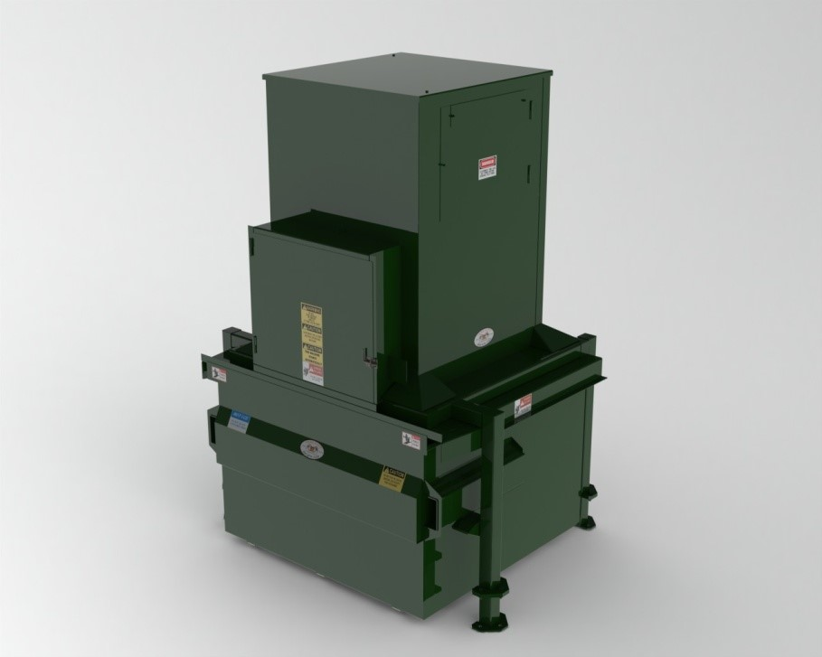 Flood Brothers Vertical Compactor
